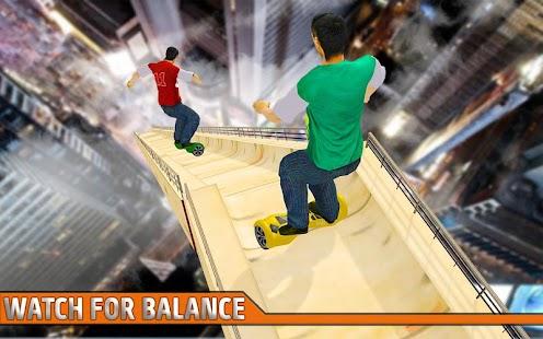 Mega Ramp VS Hoverboard