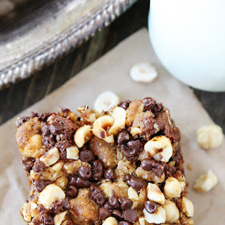 Banana Cake with Chocolate Chip Hazelnut Streusel