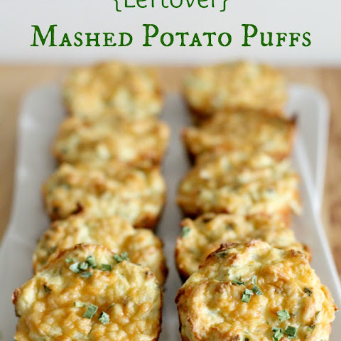 {Leftover} Mashed Potato Puffs