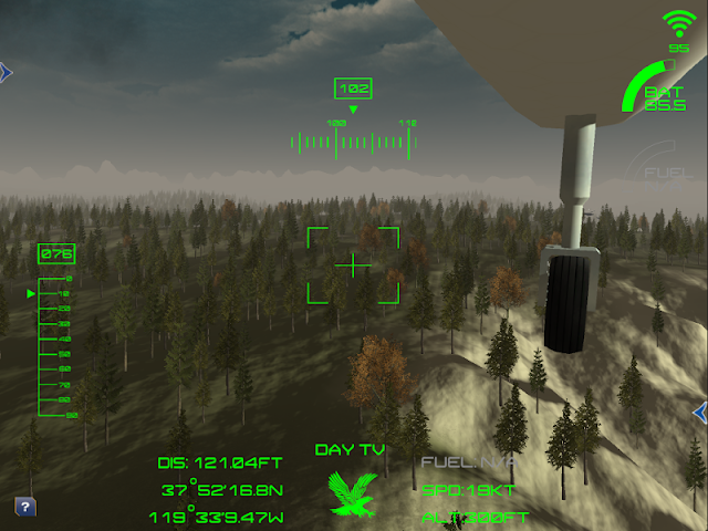 android Aerial Robotics Virtual Lab2 Screenshot 3