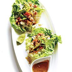 Hoisin Chicken Lettuce Wraps Rezept | Yummly