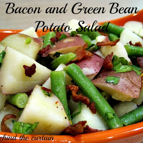 Bacon and Green Bean Potato Salad