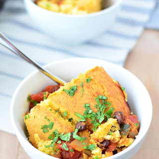 Black Bean Tamale Pie