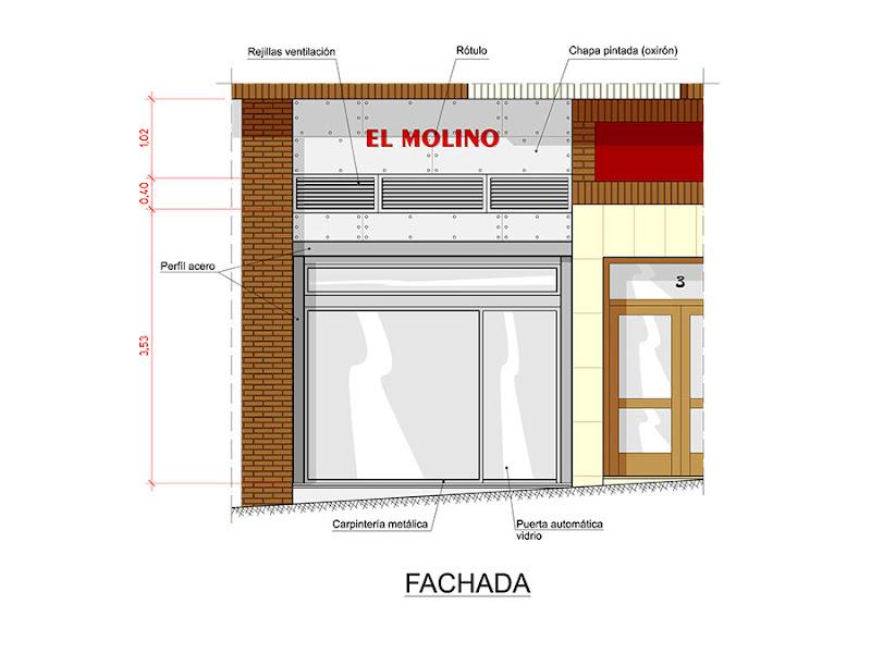 JAL Proyectos Obra Bar Restaurante