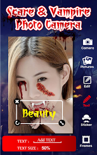 Scare Vampire Photo Camera Pro - screenshot