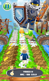 Subway Lego Knights: Free Arcade Subway Game