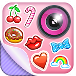 Cute Stickers Photo Editor Icon
