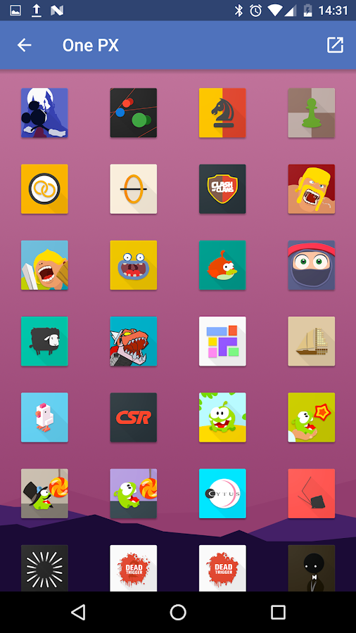 OnePX - Icon Pack Screenshot 4