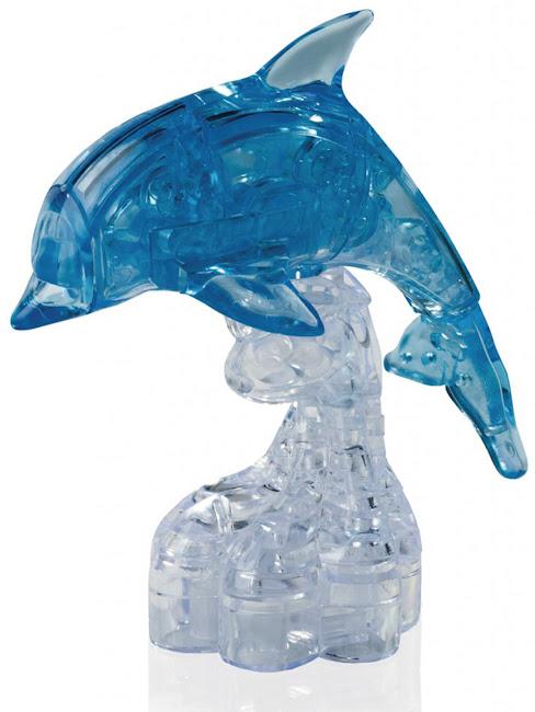 3D Crystal Puzzle Дельфин XL
