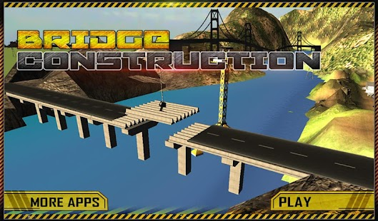 Bridge Builder Crane Operator APK for Bluestacks