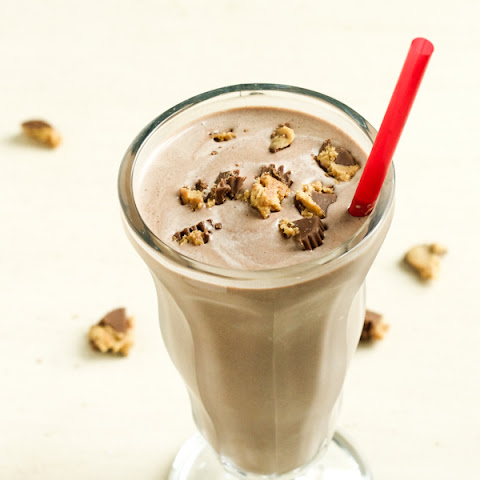 Chocolate and Peanut Butter Milkshake