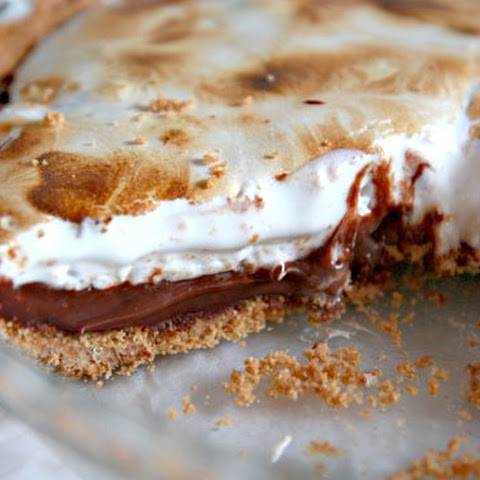 S'more Pie (adapted from Gourmet | November 2006)