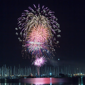 Spread by Madhujith Venkatakrishna - Abstract Fire & Fireworks