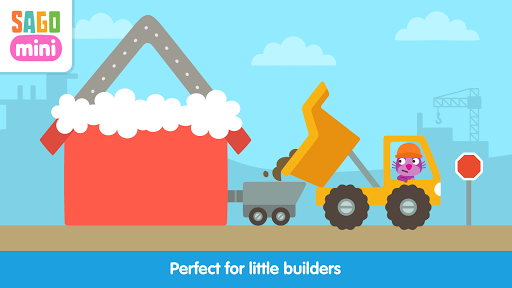 Sago Mini Trucks and Diggers - screenshot