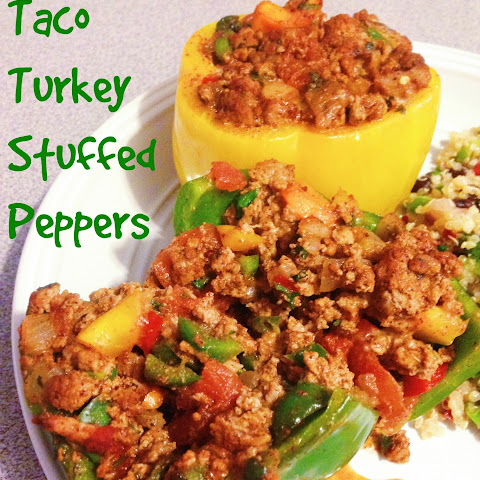 Taco Turkey Stuffed Peppers