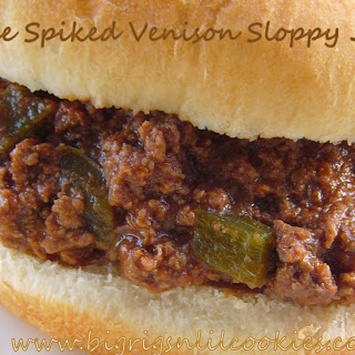 Coffee Spiked Venison Sloppy Joe's