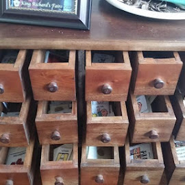 Apothecary Cabinet by Sarah Brown - Artistic Objects Furniture ( #apothecarycabinet  #pecs #visualaidsforautism #lookscool )
