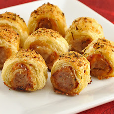 Pastry-Wrapped Sausage Bites