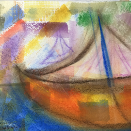 sloop john b by Jeanne Knoch - Painting All Painting