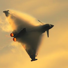 Typhoon by Marcin Chmielecki - Transportation Airplanes