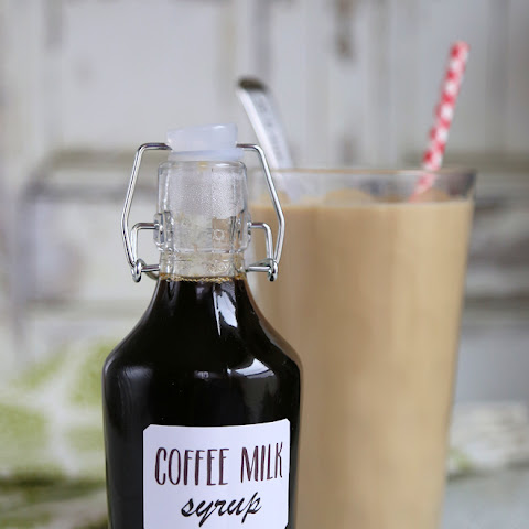 Homemade Coffee Syrup for Coffee Milk