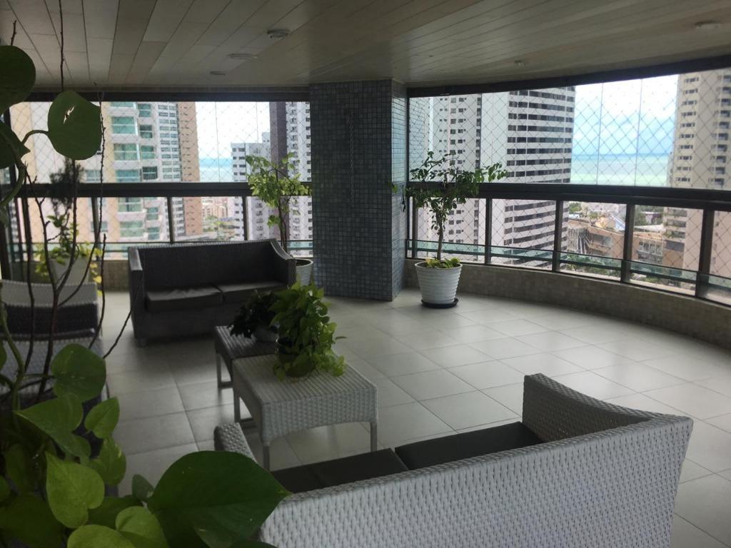 Apartamento com 3 dormitórios à venda, 380 m² por R$ 1.599.000 - Altiplano Cabo Branco - João Pessoa/PB
