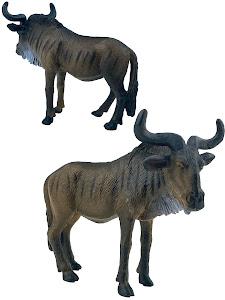 "Игрушка-фигурка серии ""Город Игр"", антилопа гну L, коричневый"
