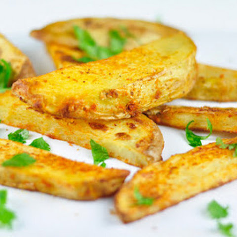 BAKED POTATO WEDGES - EASY FINGER FOOD
