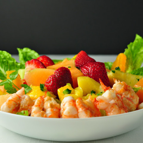 Southwestern Fruit Salad with Tequila Lime Dressing