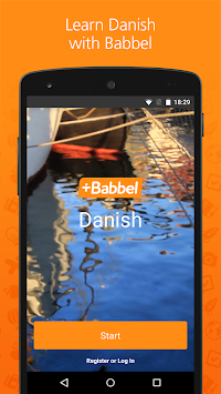 Learn Danish With Babbel APK screenshot thumbnail 1
