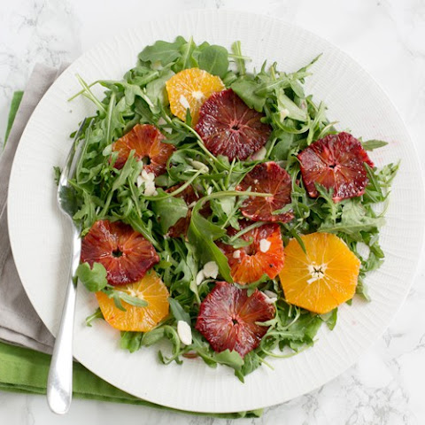 Blood Orange and Rocket Salad