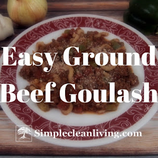Easy Ground Beef Goulash