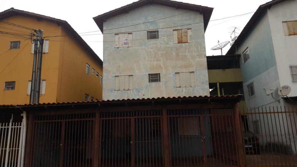 Apartamento para alugar, 50 m² por R$ 350,00/mês - Serra Dourada - Uberaba/MG