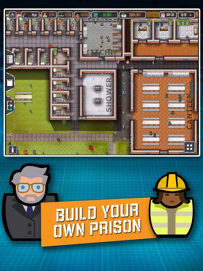 Prison Architect: Mobile Screenshot 5