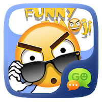 FREE-GO SMS FUNNYEMOJI STICKER For PC (Windows And Mac)
