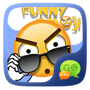 FREE-GO SMS FUNNYEMOJI STICKER For PC