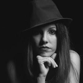Silvia  by Fabrizio Arginetti - Digital Art People ( woman, portraits )