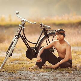 Javanese Boy by Muhamad Lazim - People Portraits of Men ( dramatic, java, boy )