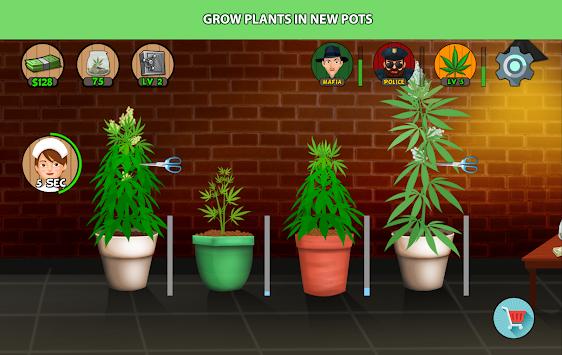 Weed Tycoon apk screenshot
