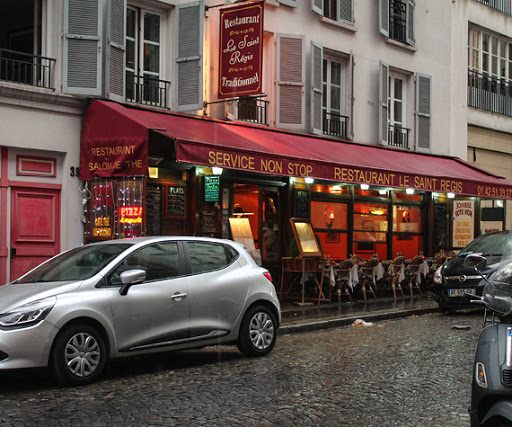 Restaurants and Cafes in Montmartre