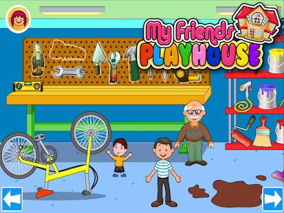 My Pretend House - Kids Family & Dollhouse Games