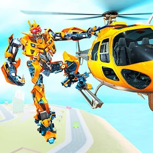Helicopter Robot Transform War – Air robot games For PC (Windows & MAC)