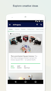 Kickstarter APK for Bluestacks