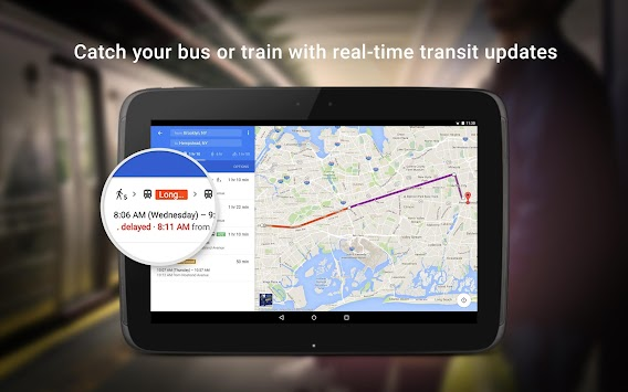 Maps - Navigation & Transit APK screenshot thumbnail 10