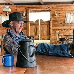 Sundown Western - Bounty Hunter by Twin Wranglers Baker - People Musicians & Entertainers (  )