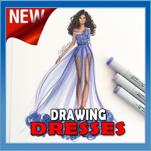 Drawing Beautiful Dresses (app)