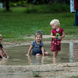 Mud puddle by Sylvester Fourroux - Babies & Children Children Candids ( KidsOfSummer )