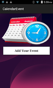 Calendar Event - screenshot
