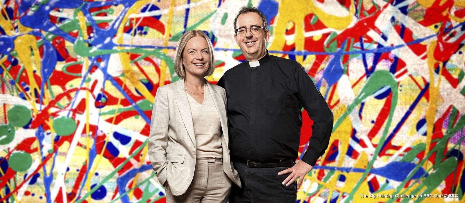 Richard Coles The Big Painting Challenge, BBC One