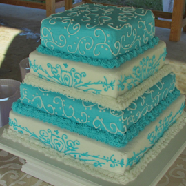 Wedding Cake by Terry Linton - Food & Drink Cooking & Baking (  )
